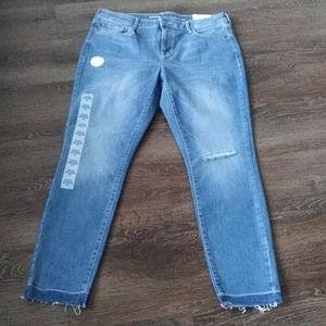 Women Old Navy Rockstar Super Skinny Ankle Jeans